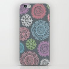 Doily Doodles iPhone Skin