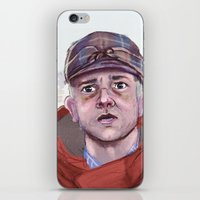 fargo iPhone & iPod Skins featuring Lester - Fargo by Charlotte Foley