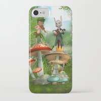 concert iPhone & iPod Cases featuring Night Concert by Simone Gatterwe