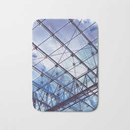 Glass Ceiling I (Portrait) - Architectural Photography Bath Mat