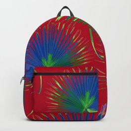 blue palms Backpack