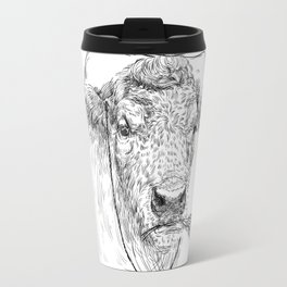 Cowby cow Travel Mug