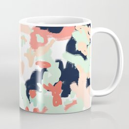 Suma - abstract gender neutral trendy home office nursery decor painting Coffee Mug