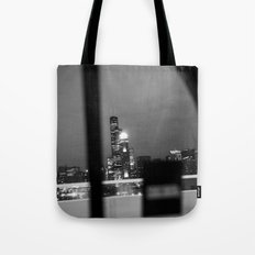 From the back of a cab Tote Bag