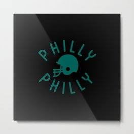 Philly Philly Metal Print