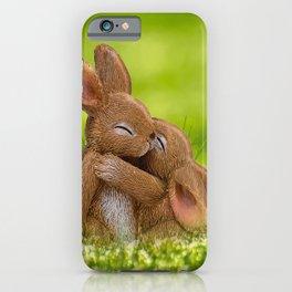 Easter Bonny | Lapin de Pâques iPhone Case