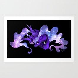 Ethereal Night- Princess Luna Art Print