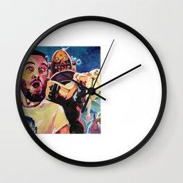Im Stunned Wall Clock