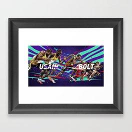 Usain Bolt Framed Art Print