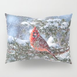 Let It Snow (Northern Cardinal) Pillow Sham