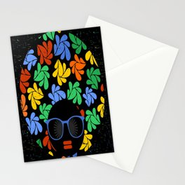 Afro Diva : Colorful Stationery Cards