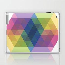 Fig. 030 Colorful Hexagon ZigZag Laptop & iPad Skin
