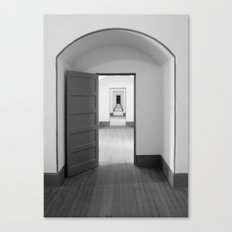 Through The Doors Canvas Print