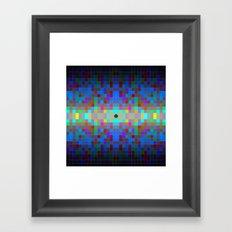 Momo pixel Framed Art Print