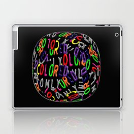 Colored Only in a Fisheye Laptop & iPad Skin