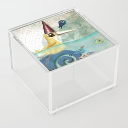 Don't forget to count the bubbles in your amazing life Acrylic Box