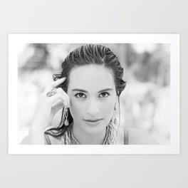 Fernanda. Art Print