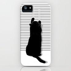 Cat Scratch iPhone (5, 5s) Slim Case