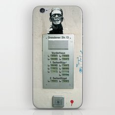 franky iPhone & iPod Skin