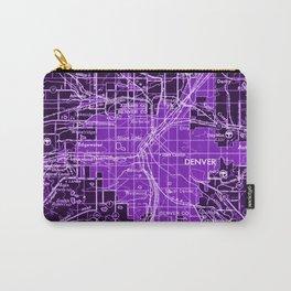 11-Denver Colorado 1958, america maps Carry-All Pouch