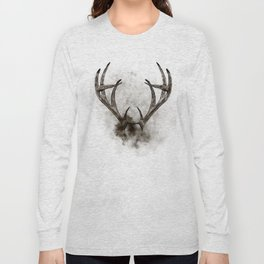 WHITETAIL DEER RACK Long Sleeve T-shirt