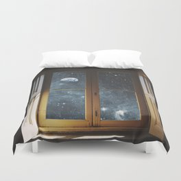 WINDOW TO THE UNIVERSE Duvet Cover