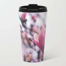 Magnolia Blossom Travel Mug