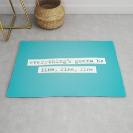 Everything's Gonna Be Fine / Jagged Little Pill Broadway Rug