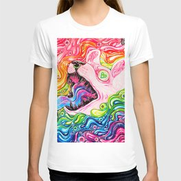 Glitterkitty - Acrylic Painting T-shirt