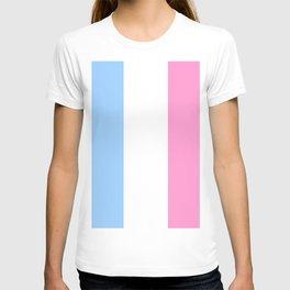 Parody of the french flag 2 -France,Paris, pink, Marseille, lyon, Bordeaux,love, girly,fun,idyll,Nic T-shirt