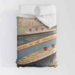 Vintage poster - Cunard Comforters