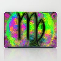 virgo iPad Cases featuring Virgo by Synesthetic