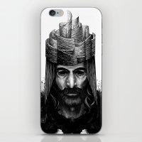 kate bishop iPhone & iPod Skins featuring Bishop by Justine Nortje