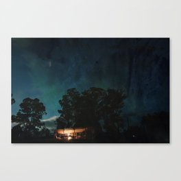 Night Stable Canvas Print