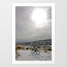 First Tracks 2 Art Print