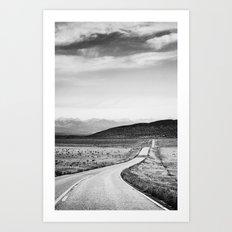 Colorado Highway 69 Art Print