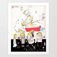 jazz Art Prints featuring Jazz by Nayoun Kim
