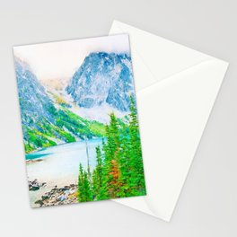 Mountain watercolor painting #5 Stationery Cards