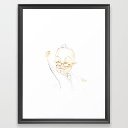 """Killing"" Fried Chicken Framed Art Print"
