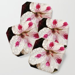 Flowers in the Summer Rain Coaster