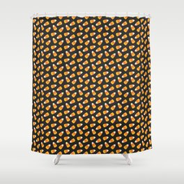 Candy Corn // Halloween Collection Shower Curtain