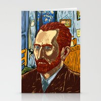 van gogh Stationery Cards featuring Van Gogh by Nicolae Negura