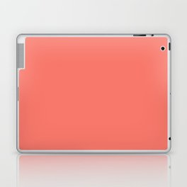 PEACH ECHO PANTONE 16-1548 Laptop & iPad Skin