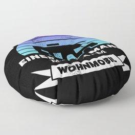 Mann mit Wohmobil | Lustiges Geschenk Floor Pillow
