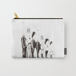 Family Portrait Line-up Carry-All Pouch