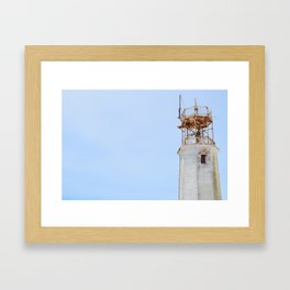 The Old Lighthouse Framed Art Print