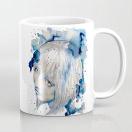 Nieves watercolor portrait by carographic Coffee Mug