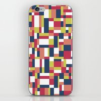 matisse iPhone & iPod Skins featuring Map Matisse #1 by Project M