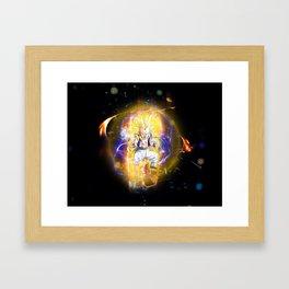 Gotenks SSJ3 Framed Art Print