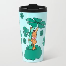 Lucky Bunny Travel Mug